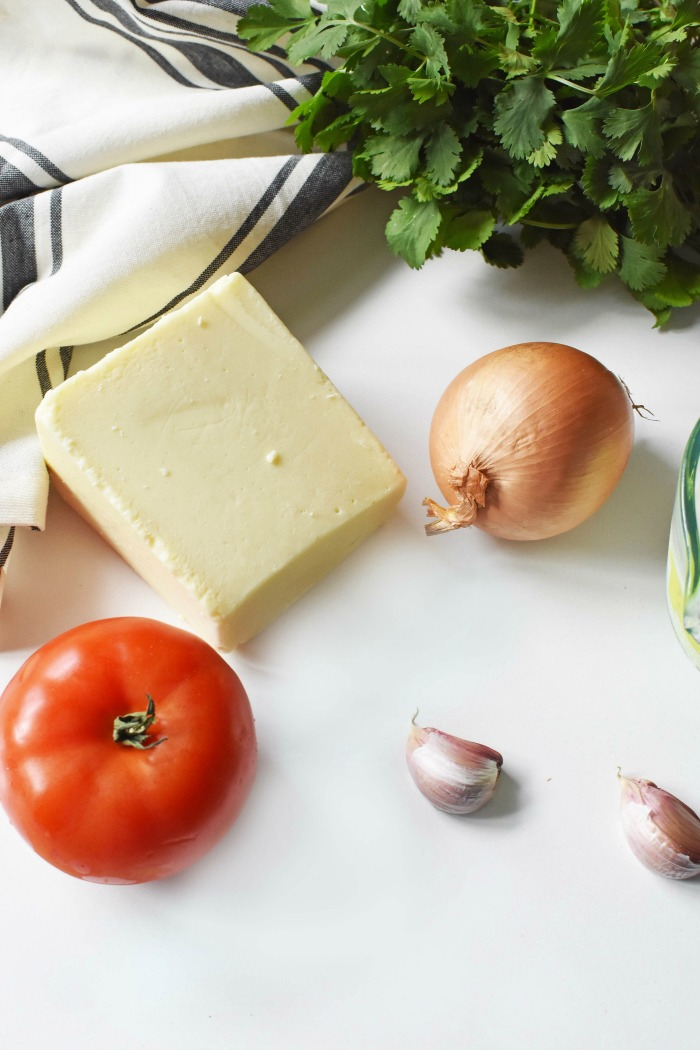 White Queso Ingredients 1
