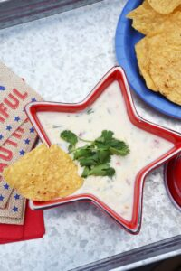 Easy Stovetop Queso Blanco with No Jalapeños!