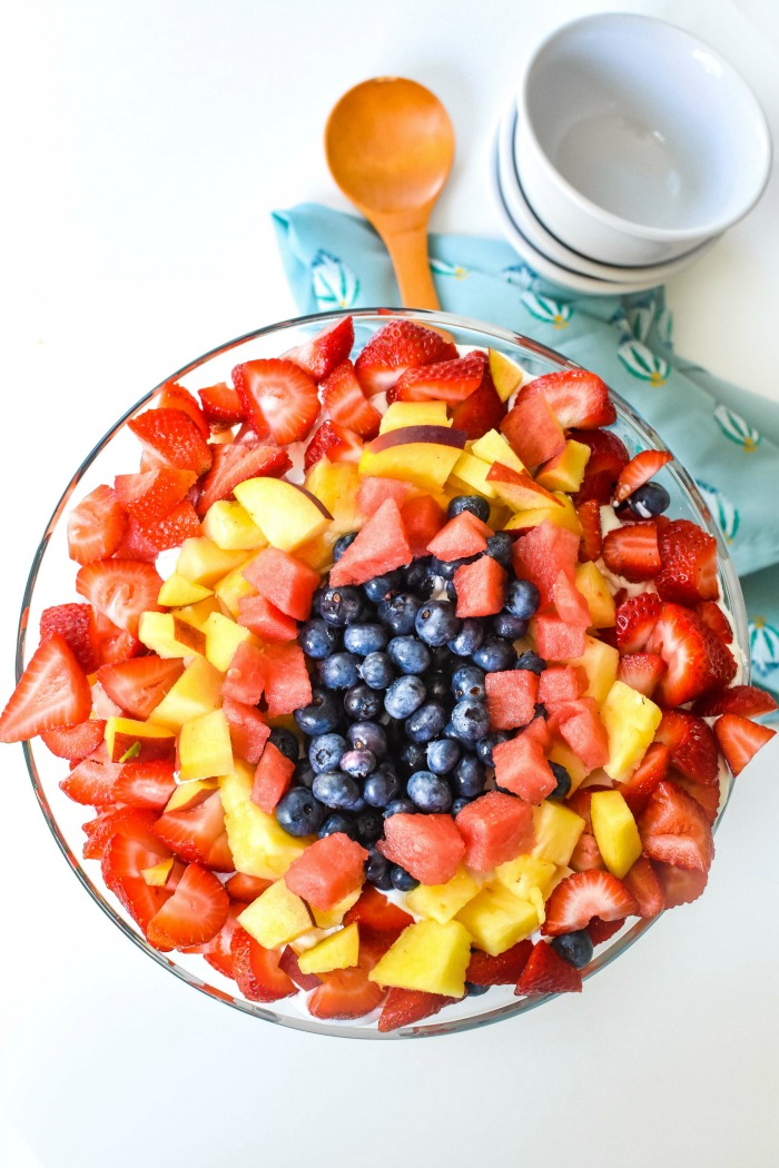 Fruit Salad Trifle Dessert Recipe 1