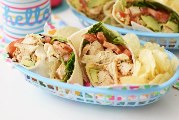 Grilled Ranch Chicken Salad Wrap Recipe 1