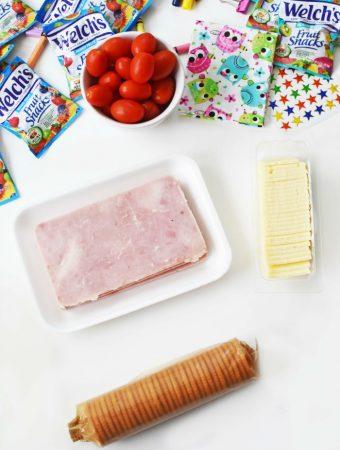 Ham and Cheese Cracker Stacker Ingredients 1