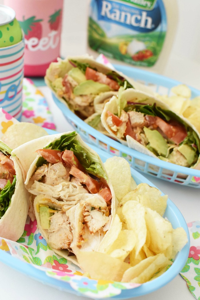 Ranch Chicken Wraps 1
