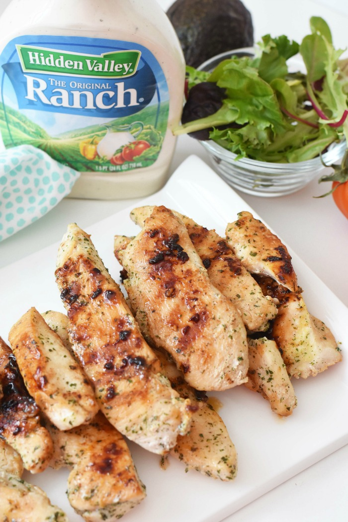 Ranch Packet Grilled Chicken Strips 1