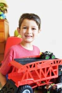 Enjoying Playtime with Hot Wheels Monster Trucks