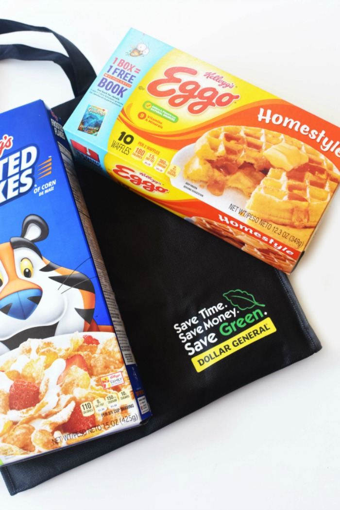 Dollar General Kelloggs Products 1