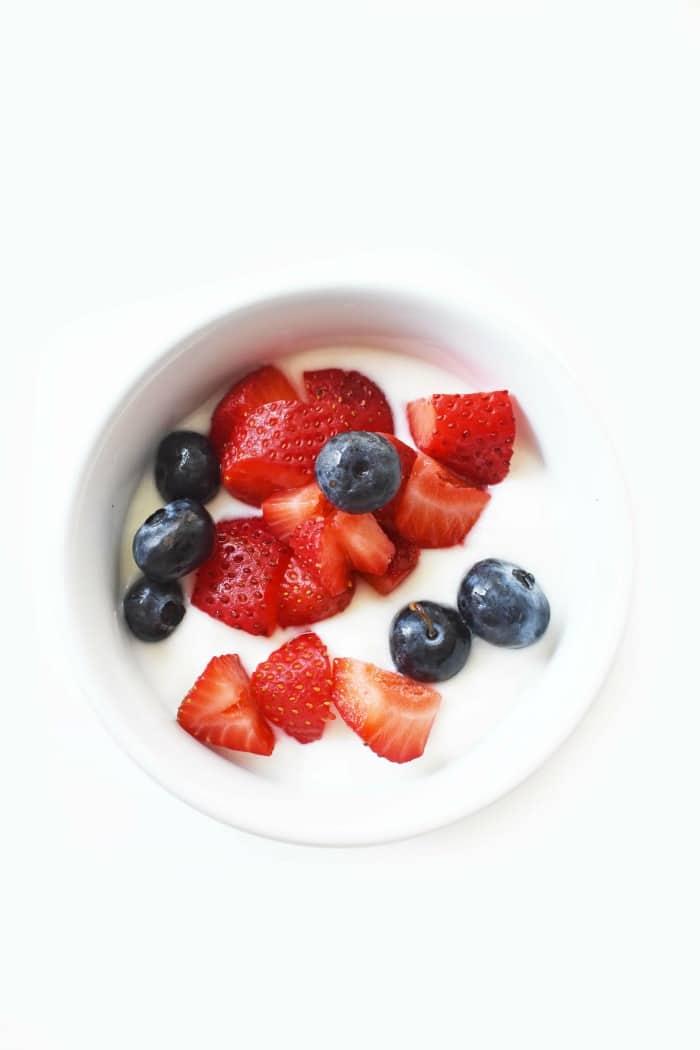 Fruit and Yogurt Bowl 1