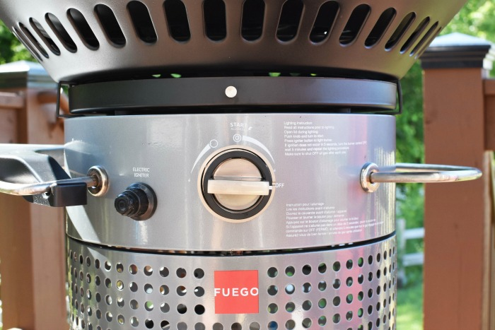Fuego Professional F24C Grill Dual Zone Heating