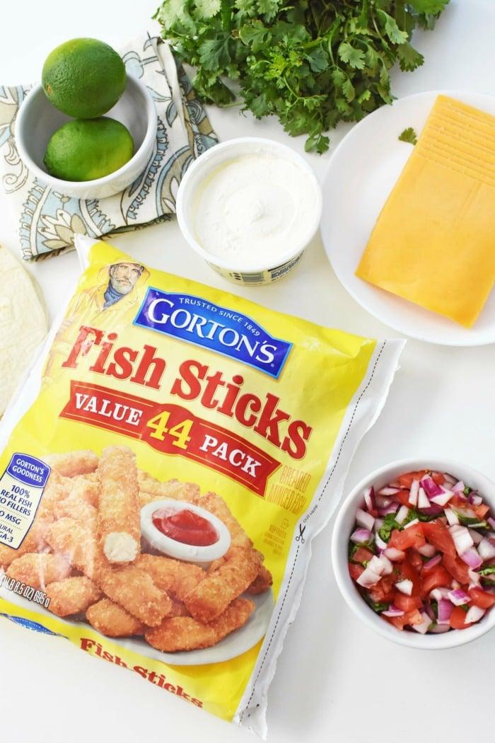 Gortons Fishsticks 1