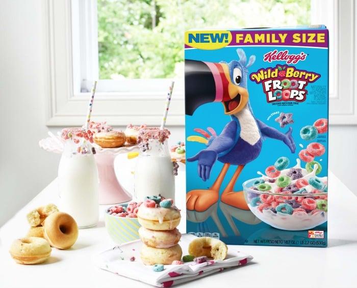 Kelloggs Froot Loops Donuts 1