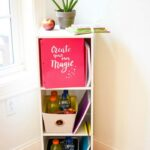 DIY Kitchen Organization Station For Kids