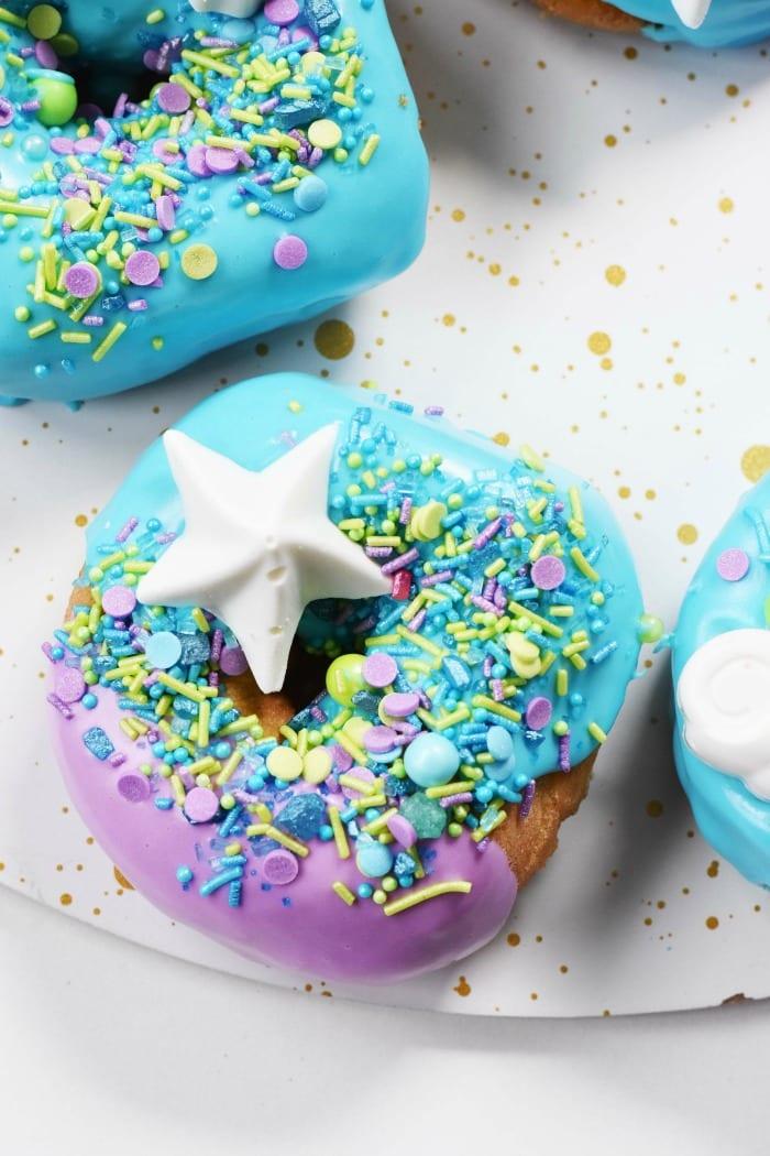 Mermaid Donut with Seashell 1