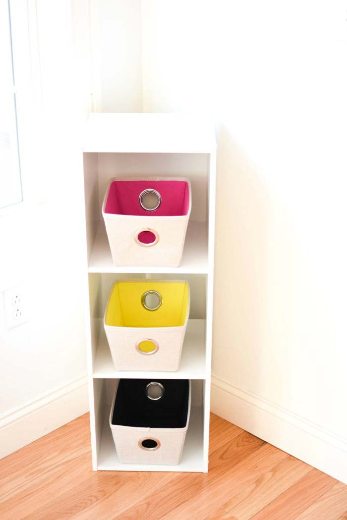 Organizational Bin 3 Tier Shelf 1