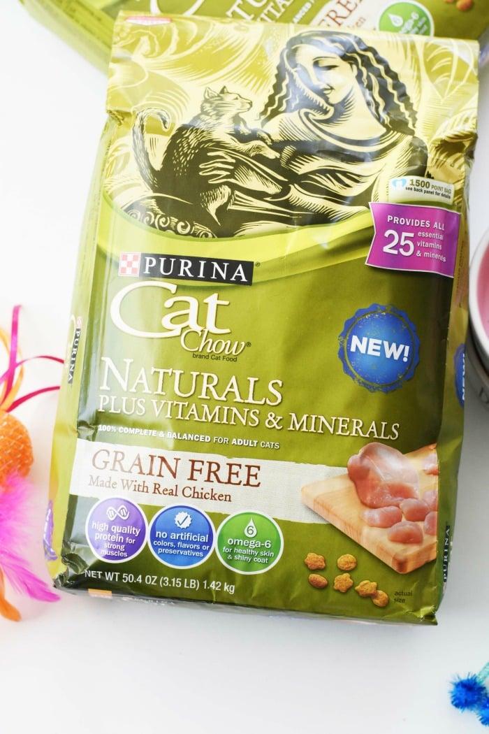 Purina Cat Chow Naturals Grain Free 1