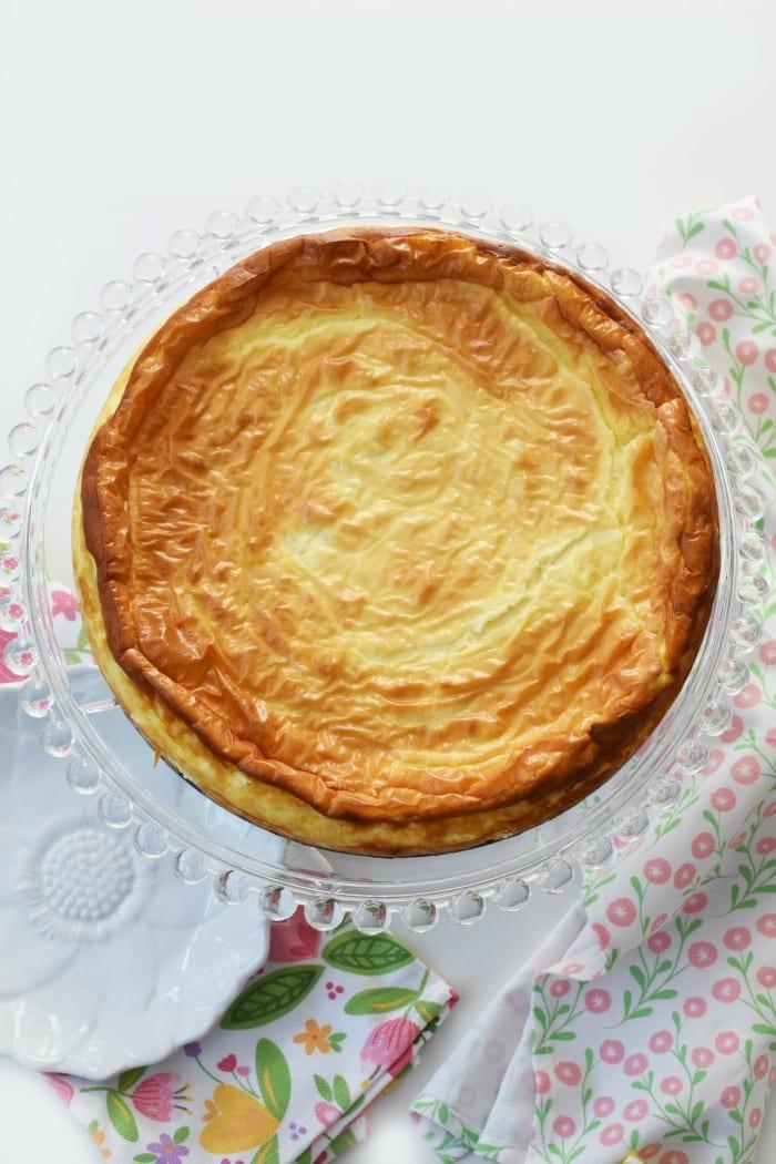 12-Inch keto Cheesecake