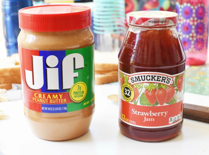 Jiff and Smuckers Large jars 1