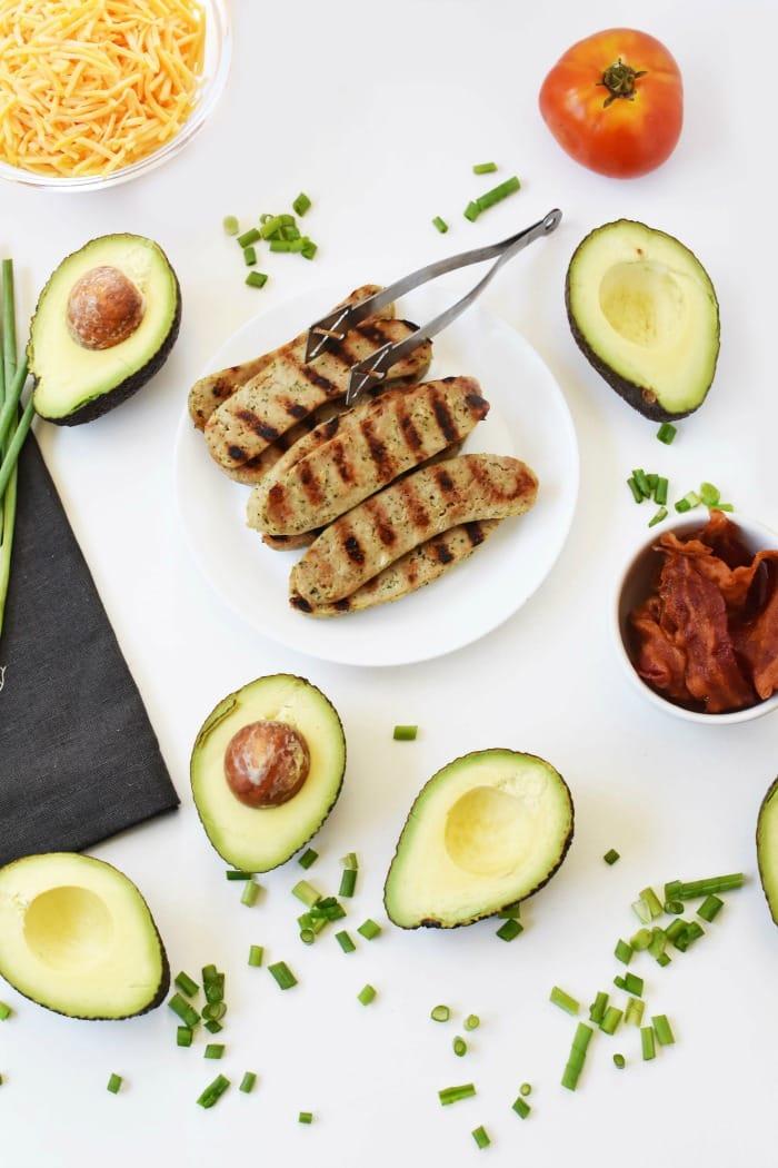Keto Avocado Chicken Salad Ingredients 1