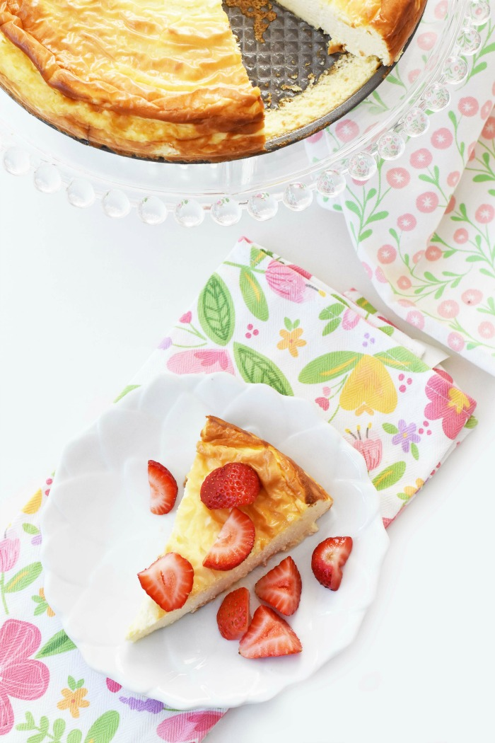 Keto Cheesecake Slice