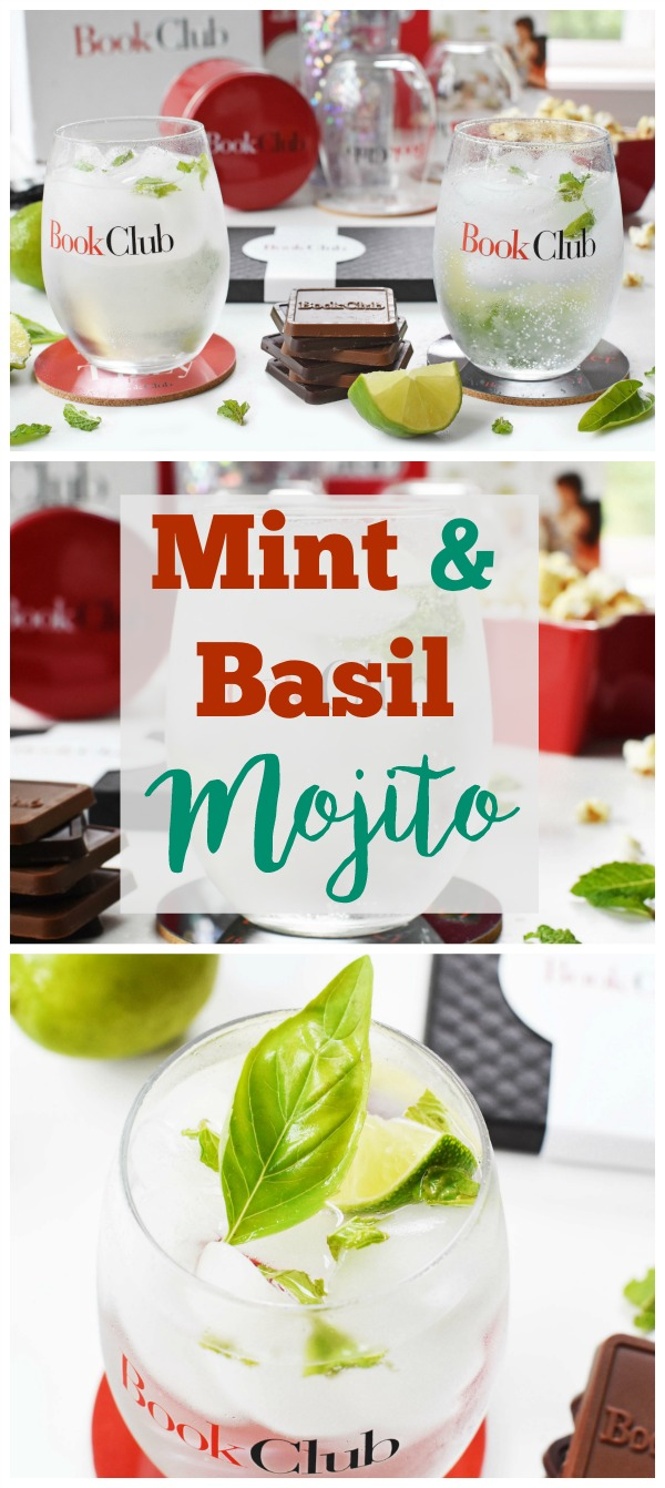 Celebrate a Girl's Night in With Book Club the Movie! Get this recipe for a Fresh Mint, Basil, and Lime Mojito.