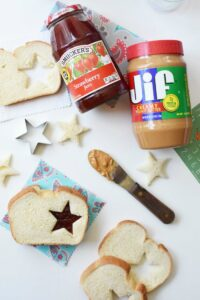 How to Make a Traditional Peanut Butter and Jelly Sandwich Fun