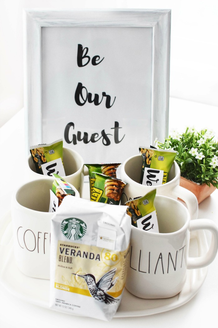 Be our guest coffee station 1