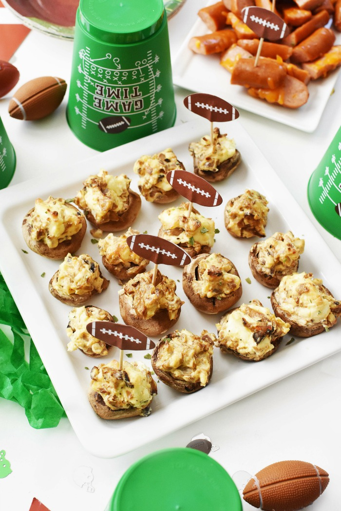 Cheese Stuffed Mushrooms 1