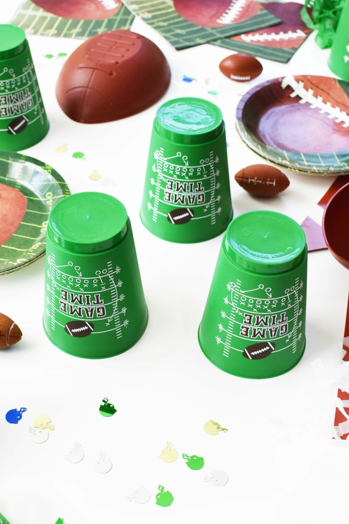 Game Time Football cups 1