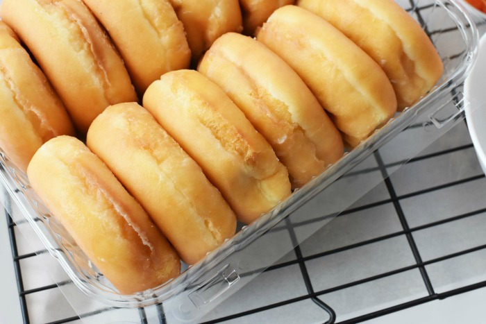 Glazed Fluffy Donuts dozen 1