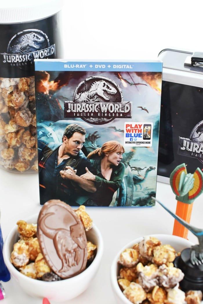 Jurassic World Blu Ray DVD 1