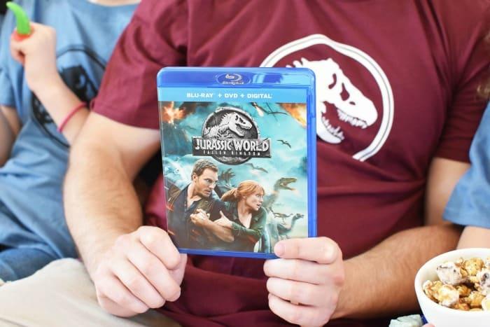 Jurassic World Fallen Kingdom Blu-Ray 1