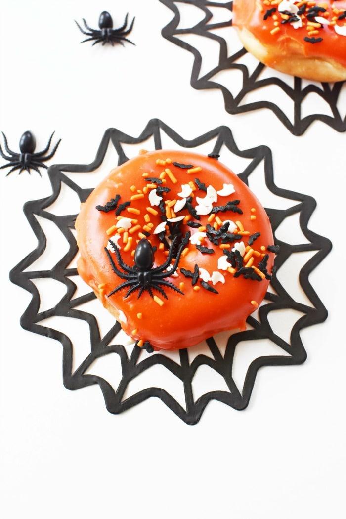 Spider Halloween Donuts 1