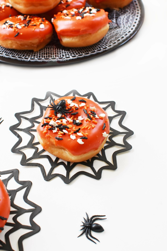 Spooky Orange Halloween Donuts 1