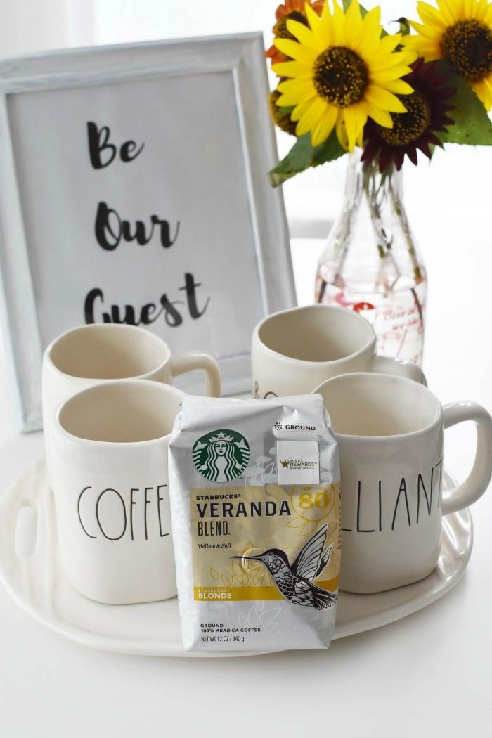 Starbucks Coffee Tray with Mugs 1