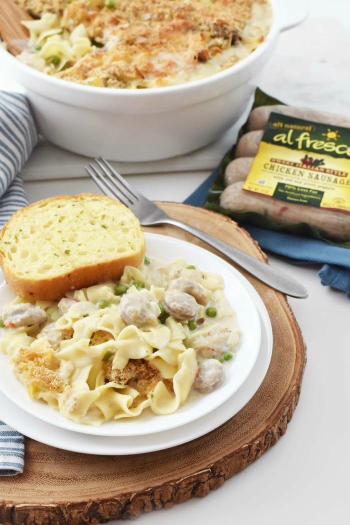 al fresco italian sausage chicken tetrazzini 1