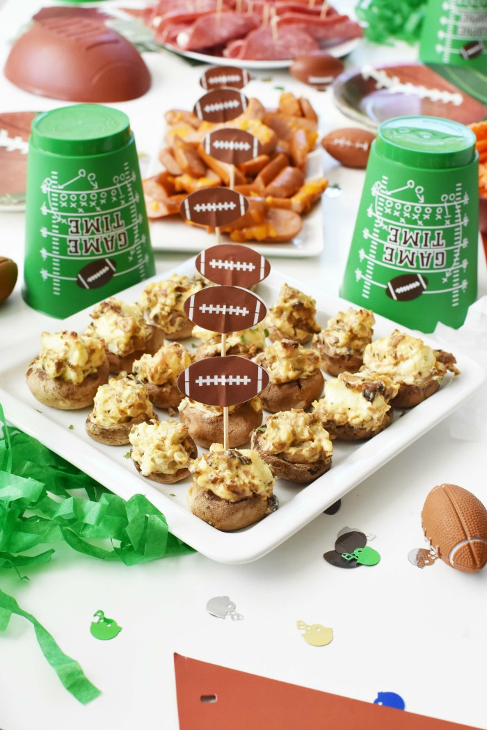 keto Football appetizers 1