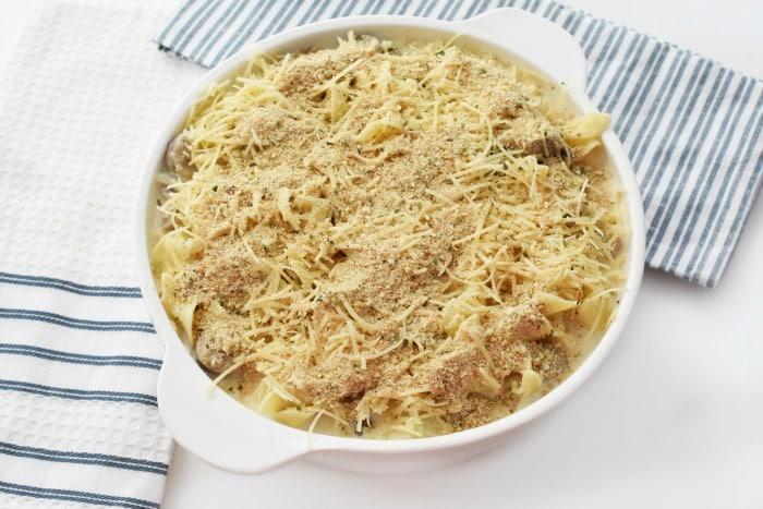 prebaked chicken tetrazzini casserole 1
