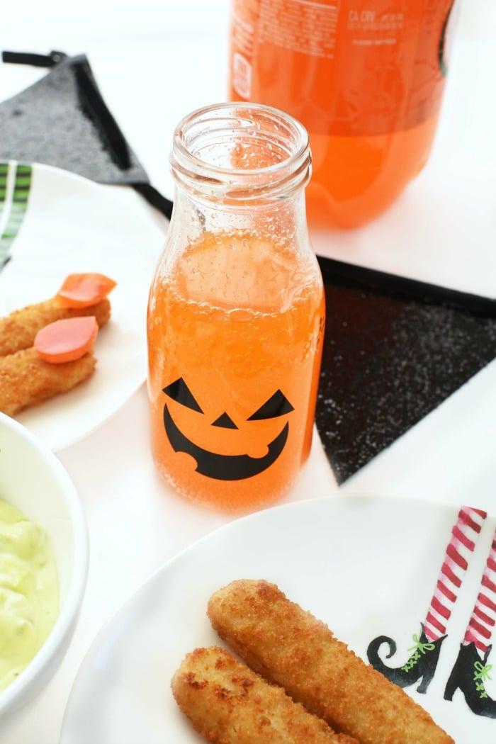 Halloween Milk Bottle 1