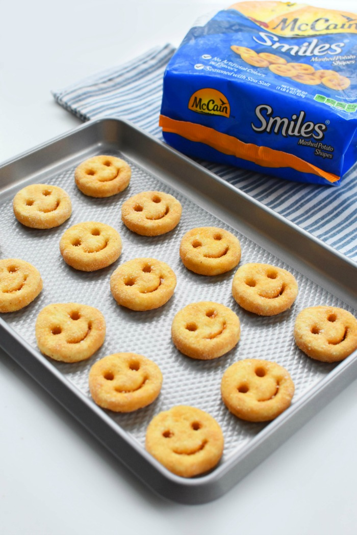 Smiles on baking sheet 1
