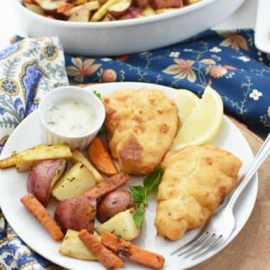Allergy Free Fish Dinner Idea 1