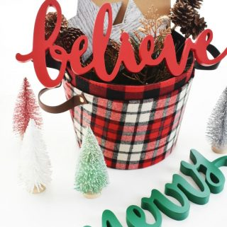 Believe Christmas Basket 1