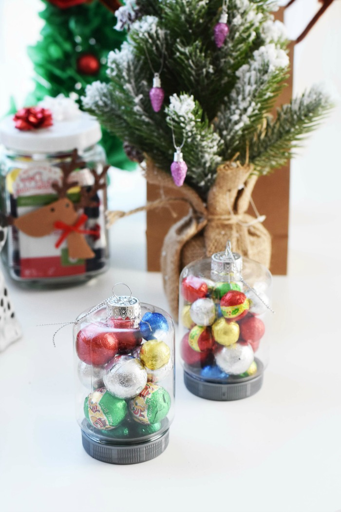 DIY Christmas Candy Filled Ornaments 1