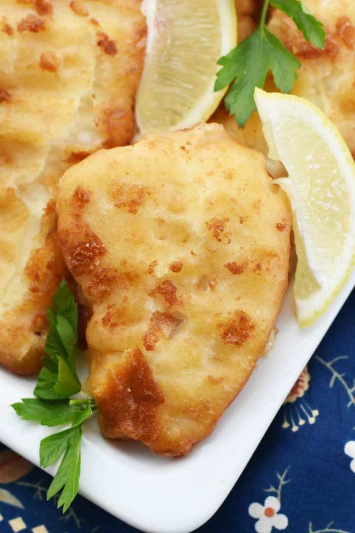 Hook Line and Savor Beer Battered Haddock 1