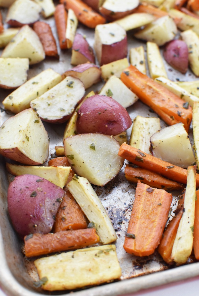 Sheet Pan Root Veggies 1