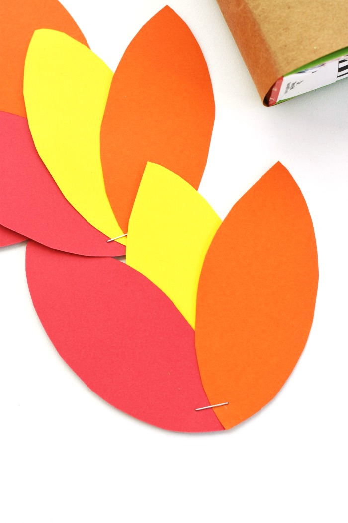Turkey Construction Paper Feathers 3