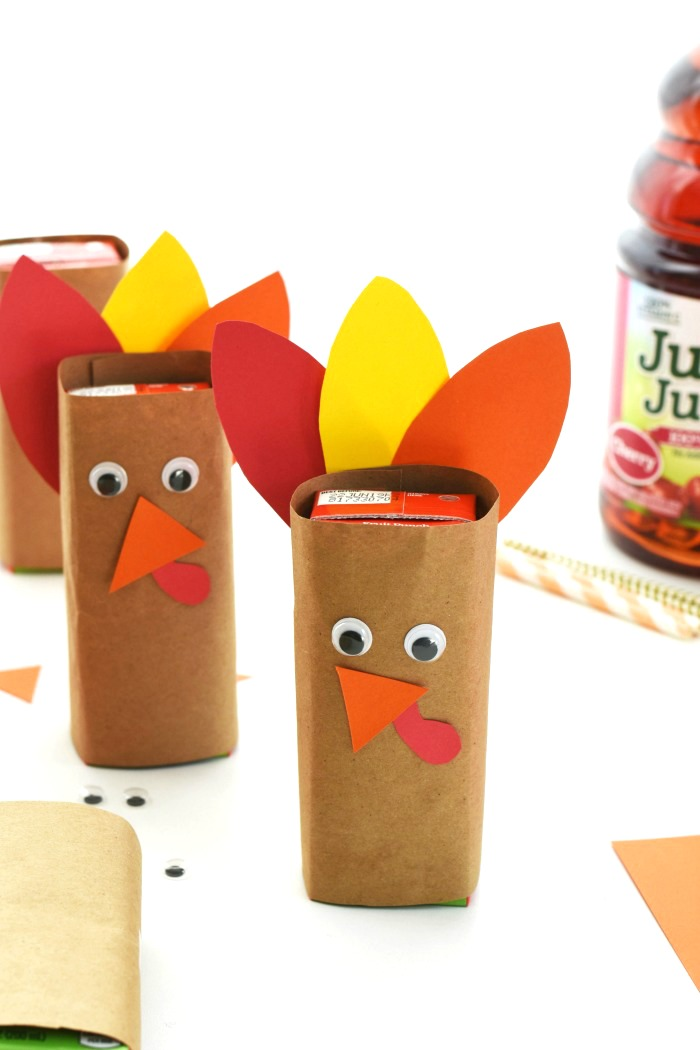 turkey paper juice box covers 3