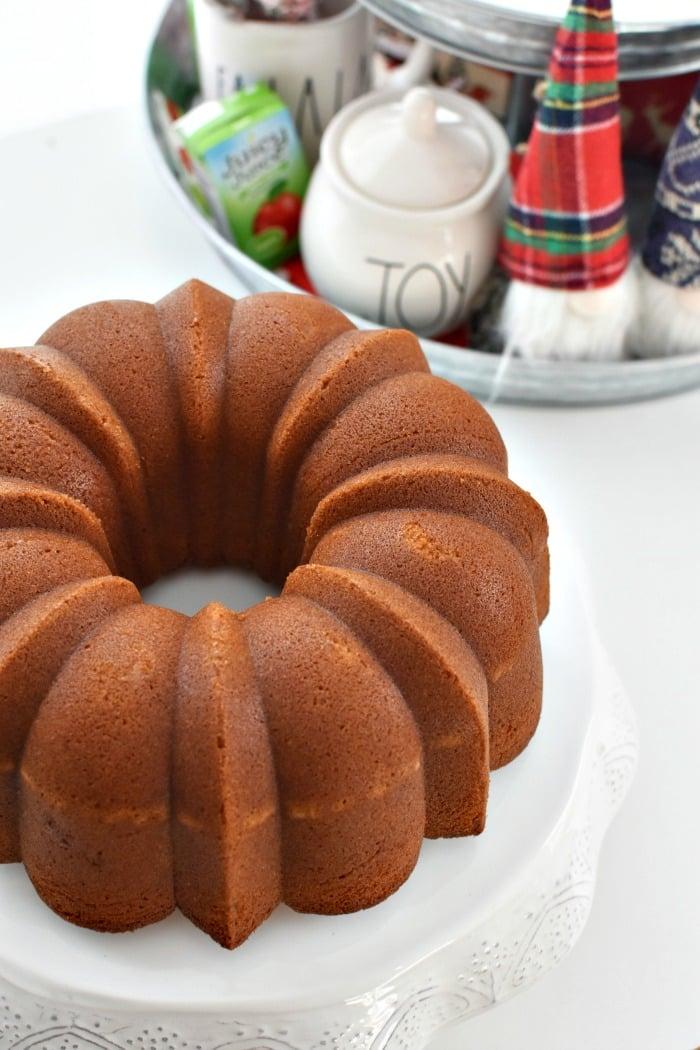 Apple Juice bundt cake recipe1