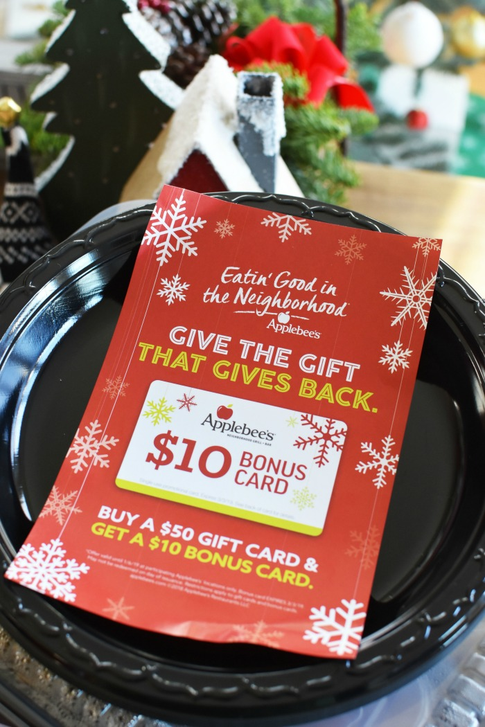 Applebees Gift Card promo 1