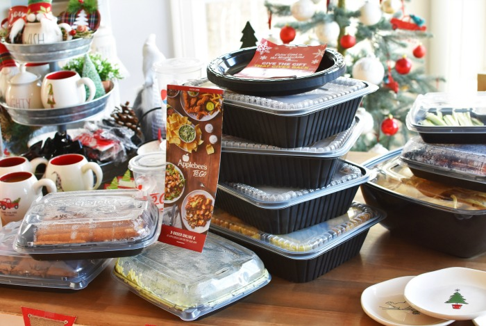 Applebees Holiday Party ToGo Catering 1