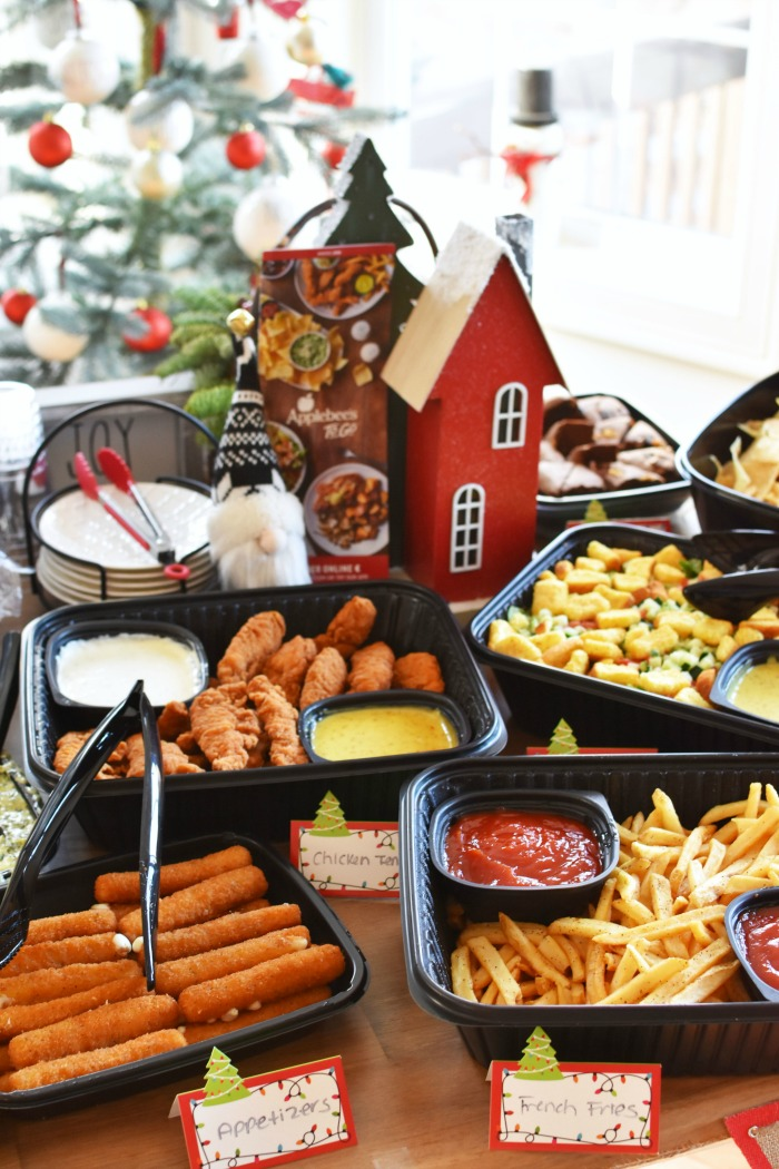 Applebees Holiday catering for parties 1