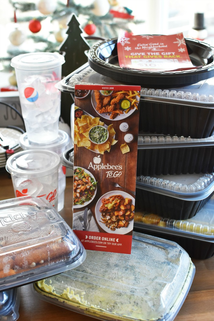 Applebees To Go Catering Order 1