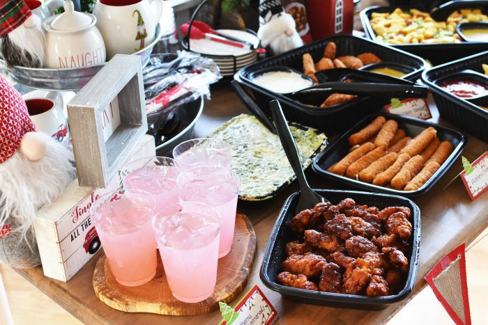 Applebees holiday catering at home 1